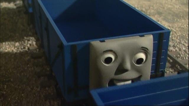 TV版第9シーズンのジェームスの新しい貨車