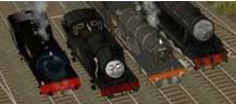 Trainzのジンティーとパッグの同行車