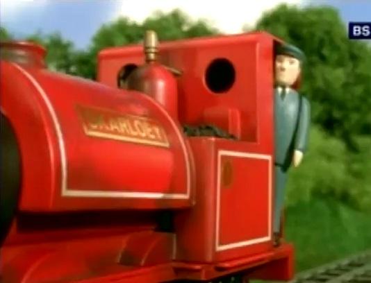 TV版第7シーズンのスカーロイの機関士