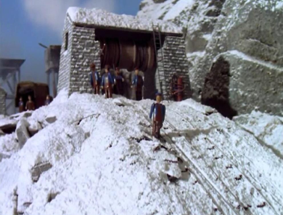 TV版第5シーズンのスカーロイスレート採石場