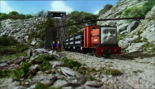 TV版第6シーズンのスカーロイスレート採石場