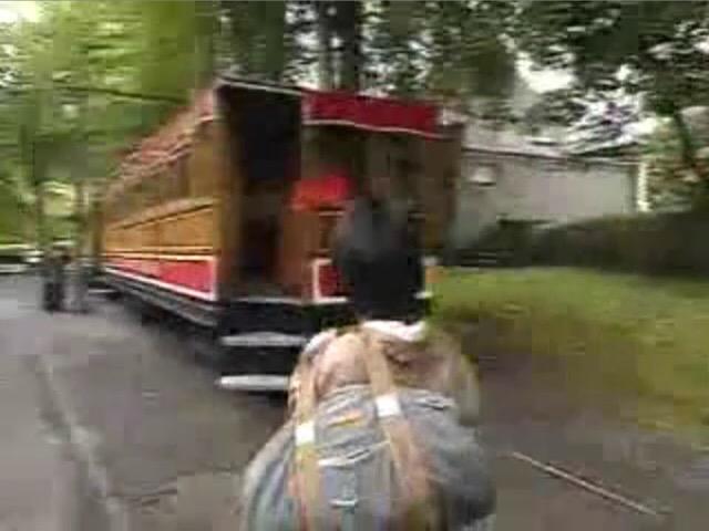 世界・ふしぎ発見!のスネイフェル登山鉄道5号