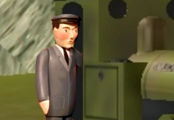 Trainz版のスマジャーの機関士