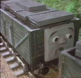 TV版第2シーズンのスレートの貨車