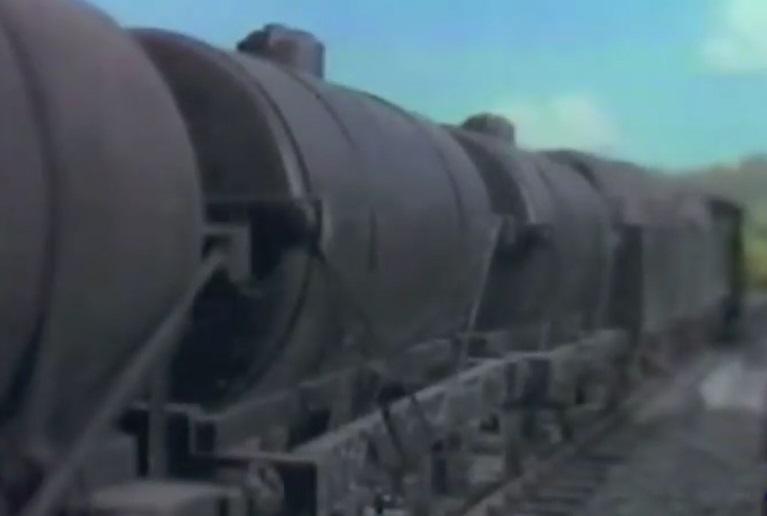 TV版第3シーズンのタンク車