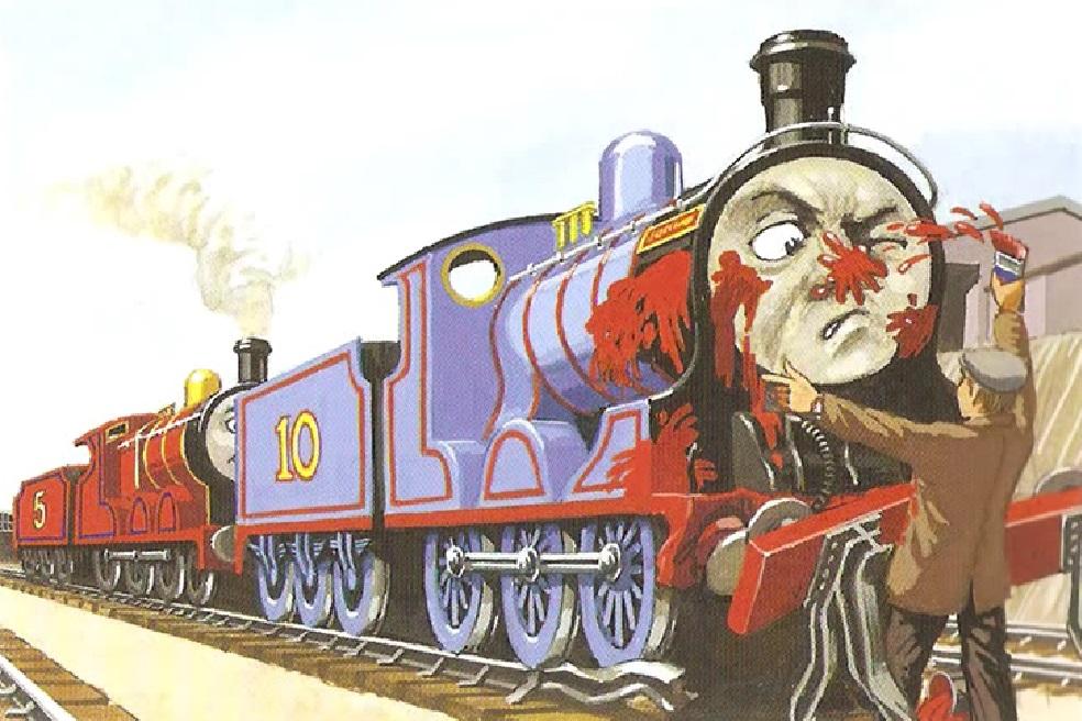 原作第42巻で鼻に赤いペンキを掛けられたダグラス