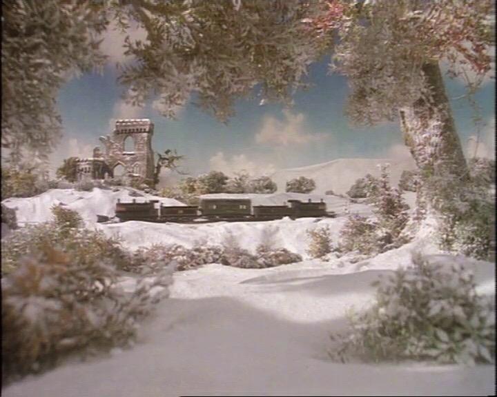ドナルドとプッシュプルで救援客車を牽引しているダグラス