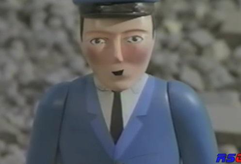 TV版第3シーズンのダックの機関士