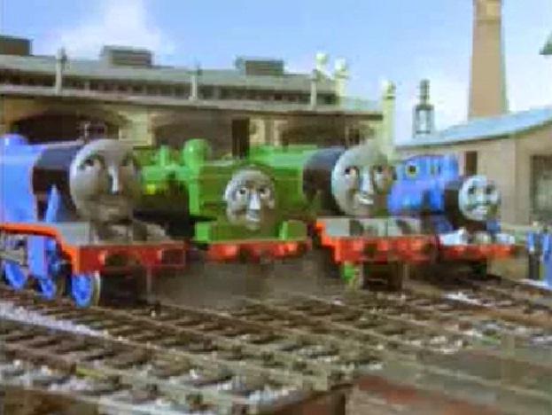 TV版第5シーズンのティッドマス機関庫