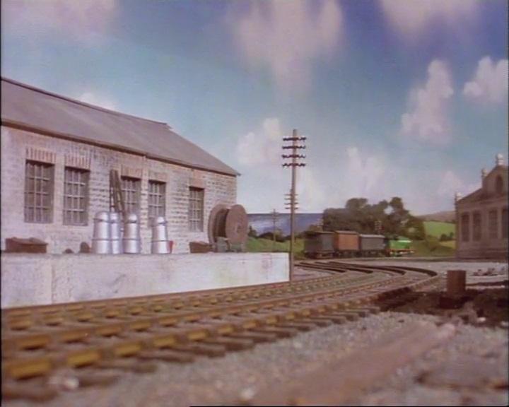 TV版第2シーズンのティッドマス貨物駅