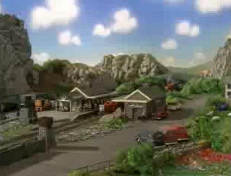TV版第7シーズンのティールーム駅