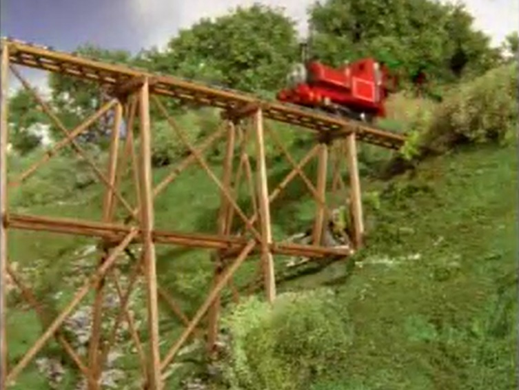TV版第7シーズンのトレッスル橋