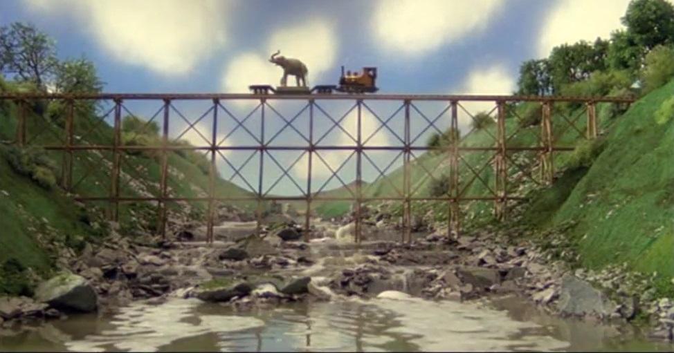 TV版第7シーズンのトレッスル橋2