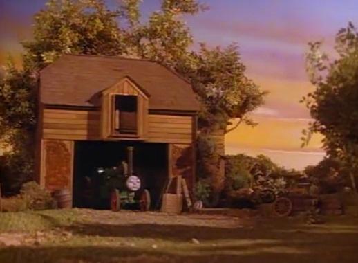 TV版第2シーズンのトレバーの車庫