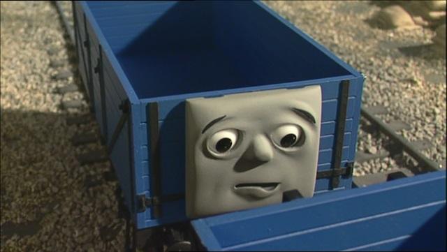 ジェームスの新しい貨車