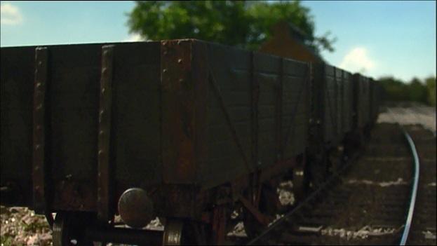 TV版第9シーズンのトーマスの古い貨車(人格無し)