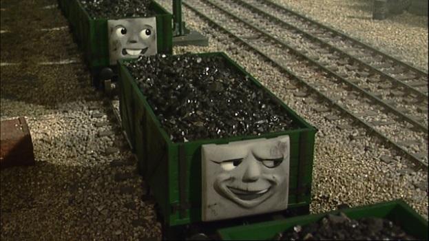 TV版第9シーズンのトーマスの新しい貨車