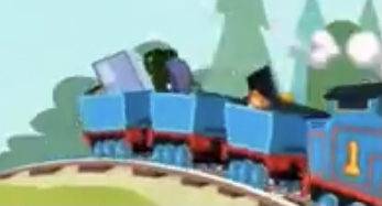 『All Engines Go!』第1シーズンのトーマスの無蓋貨車
