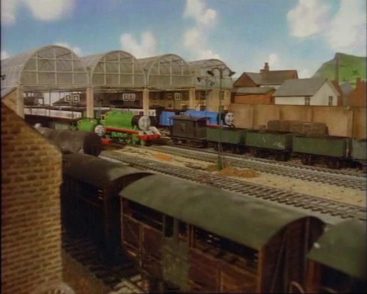 TV版第2シーズンのナップフォード駅