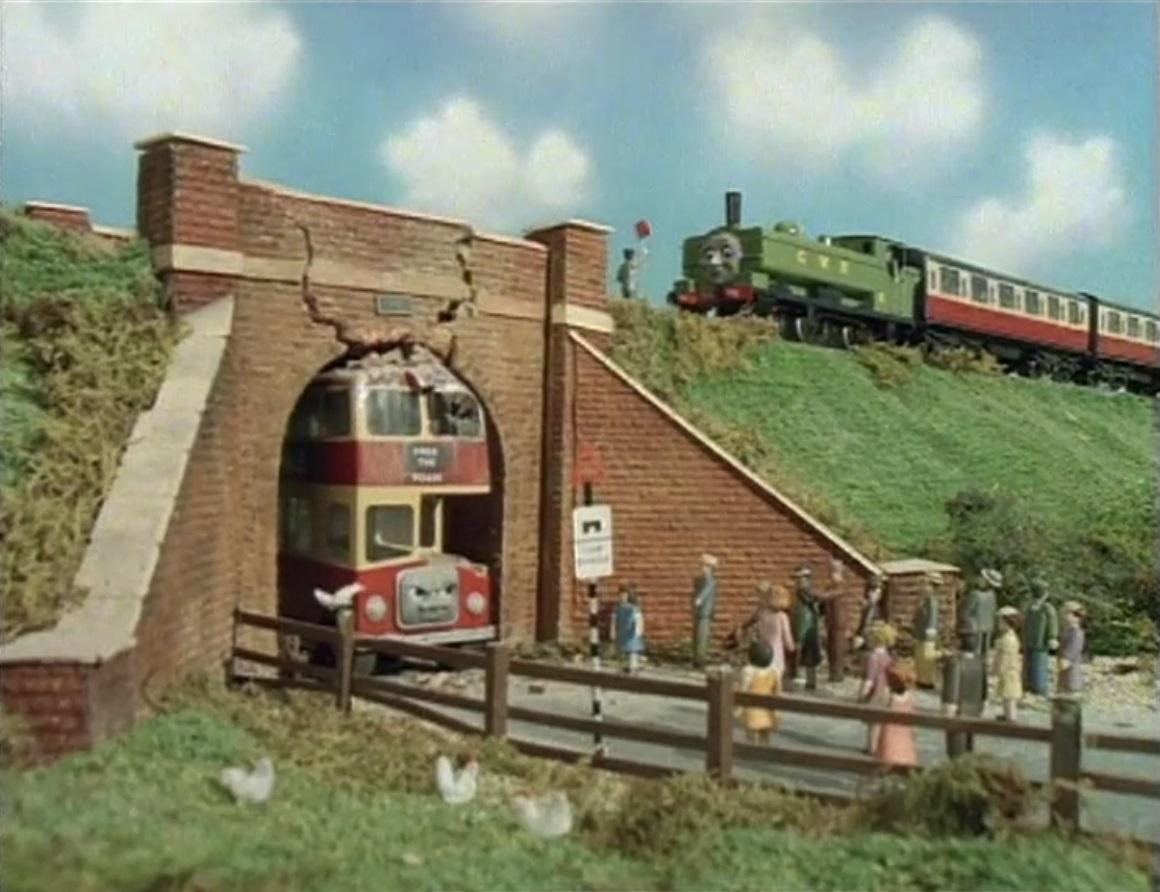 TV版第3シーズンのバルジーの橋