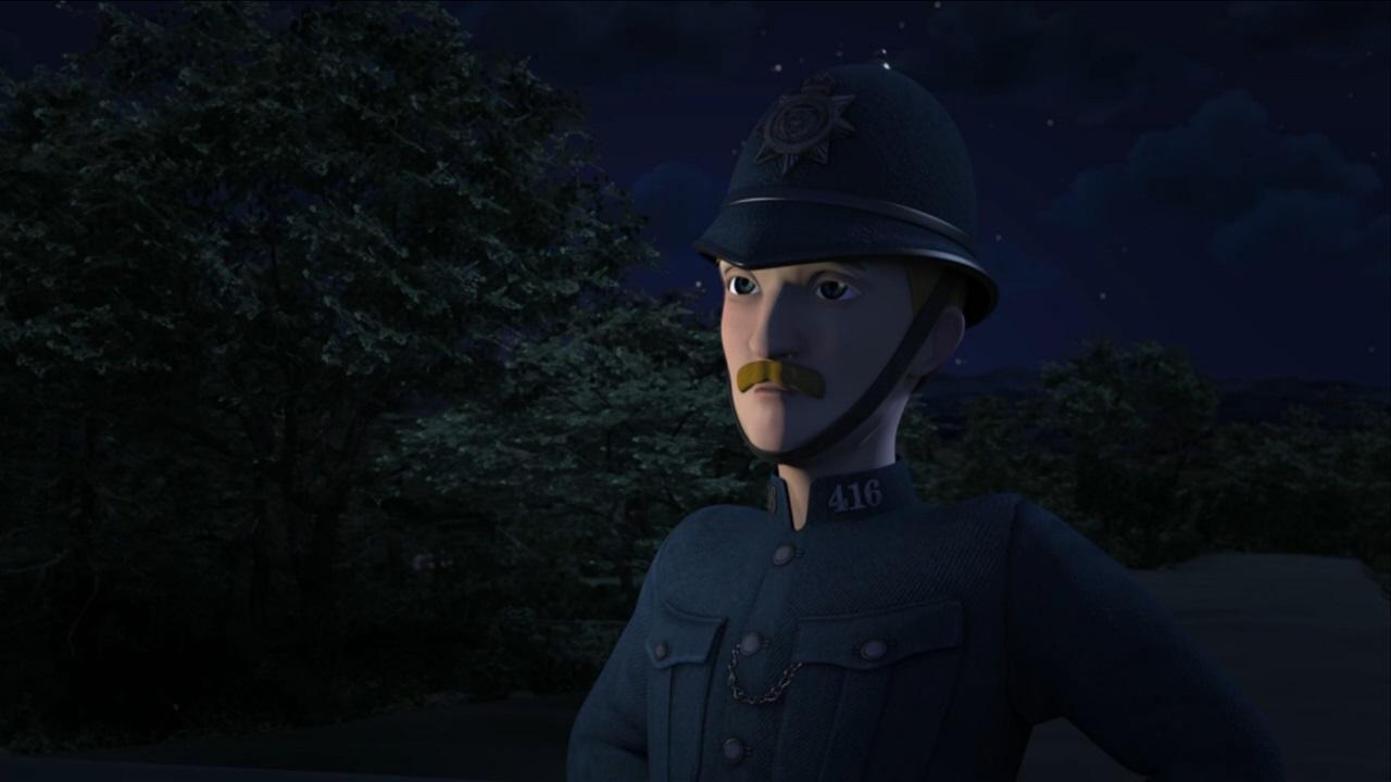 TV版第20シーズンの警察官