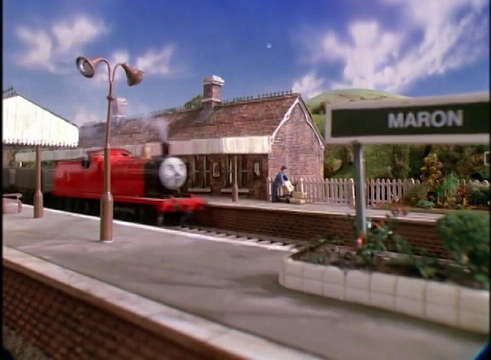 TV版第1シーズンのマロン駅のポーター