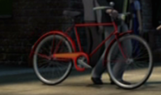 TV版第19シーズンのミスター・パーシバルの新しい自転車