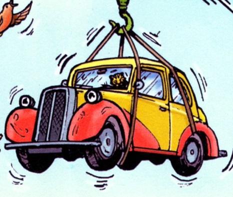 マガジンストーリーのヤードマンの自動車