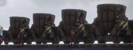 TV版長編第13作のラドル貨車