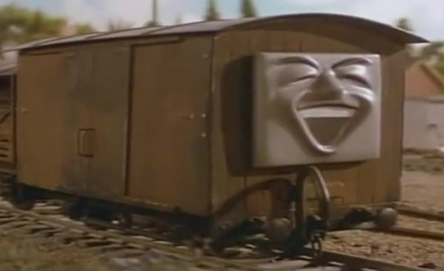 TV版第2シーズンのリントン・アンド・バーンステイプル鉄道の有蓋貨車