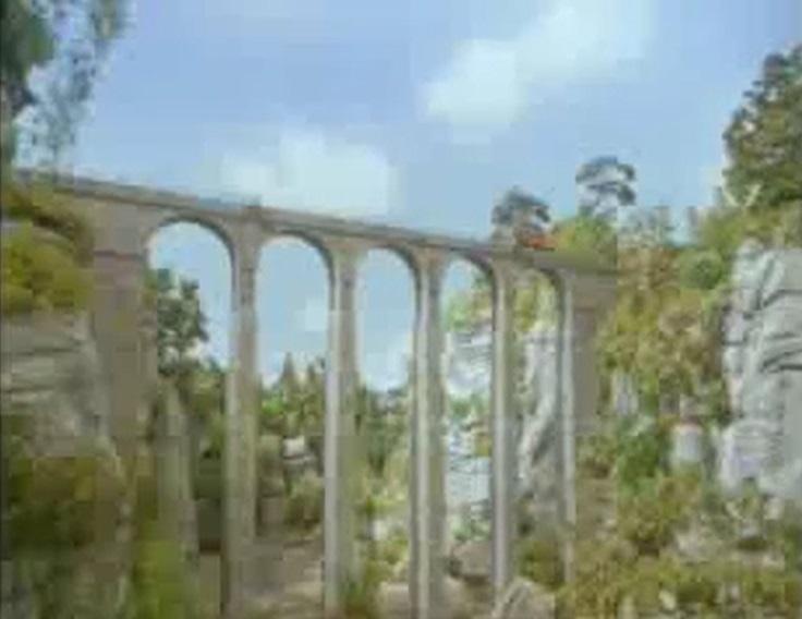 TV版第4シーズンのレニアス高架橋
