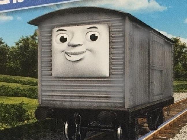 ロンドン・アンド・ノース・イースタン鉄道の顔付き有蓋貨車(タイプ1)/画像