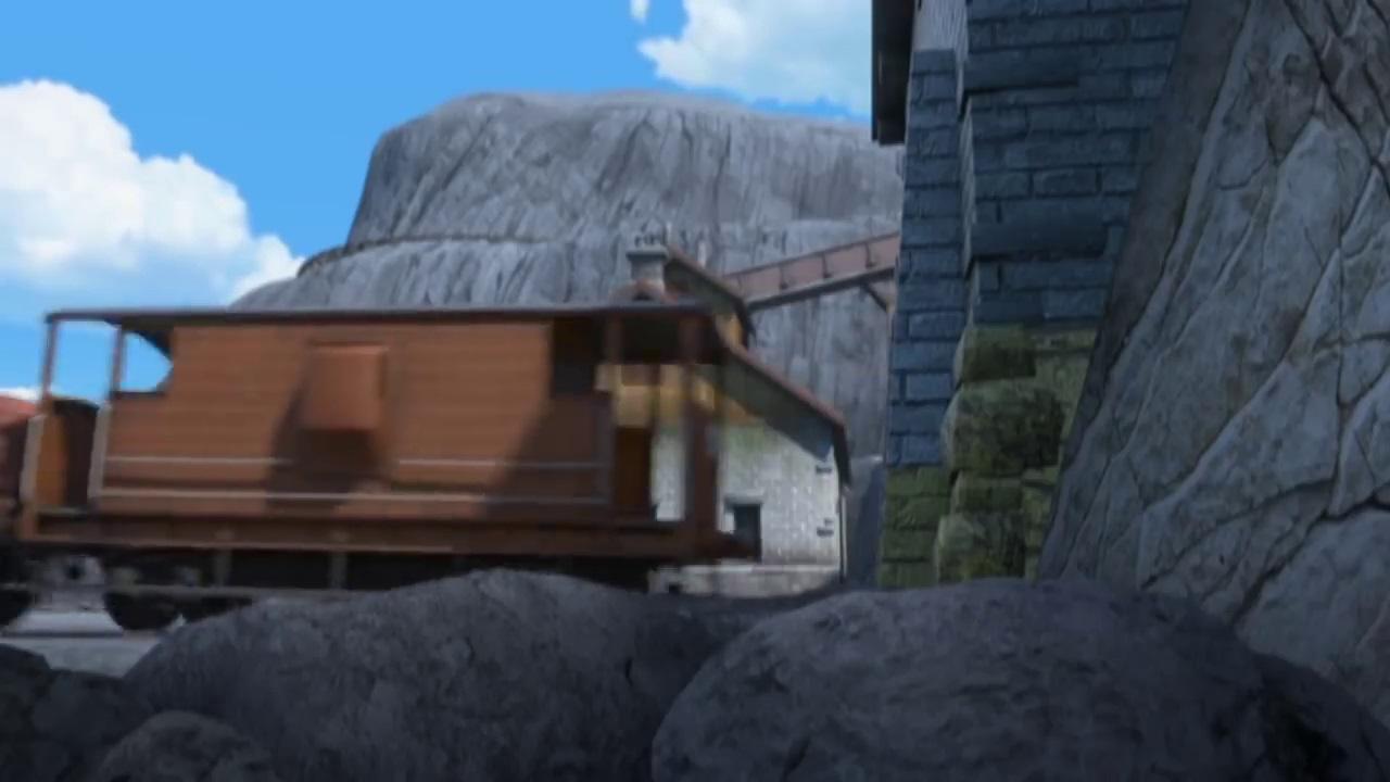 TV版第22シーズンのロンドン・ミッドランド・アンド・スコティッシュ鉄道の20トンブレーキ車