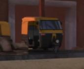TV版第23シーズンの三輪タクシー