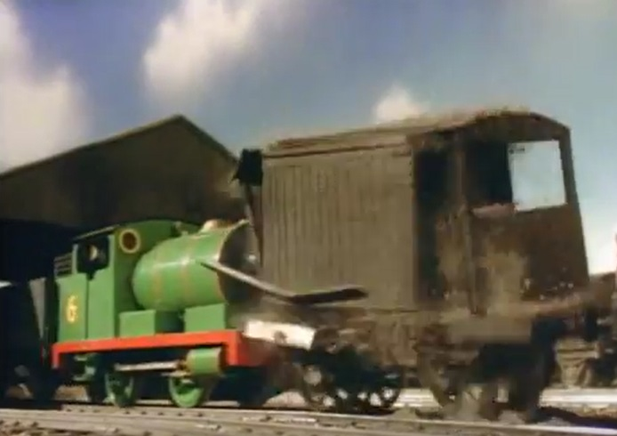 TV版第2シーズンの不格好なイギリス国鉄の20トンブレーキ車