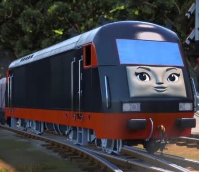 長編第14作の中国のディーゼル機関車
