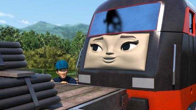 TV版第22シーズンの中国のディーゼル機関車