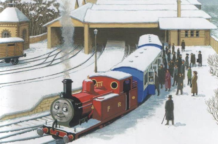 原作第41巻のイギリスの乗客