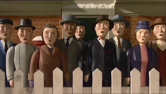 TV版第8シーズンのノース・ウェスタン鉄道の乗客