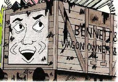 マガジンストーリーの古いベンネット