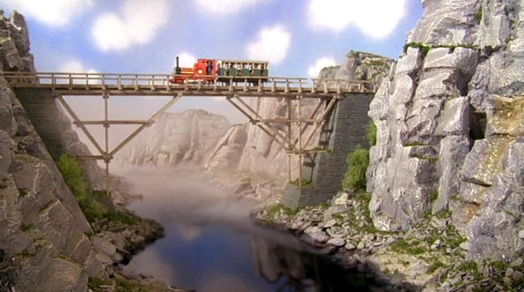 TV版第7シーズンの古い木製の橋2