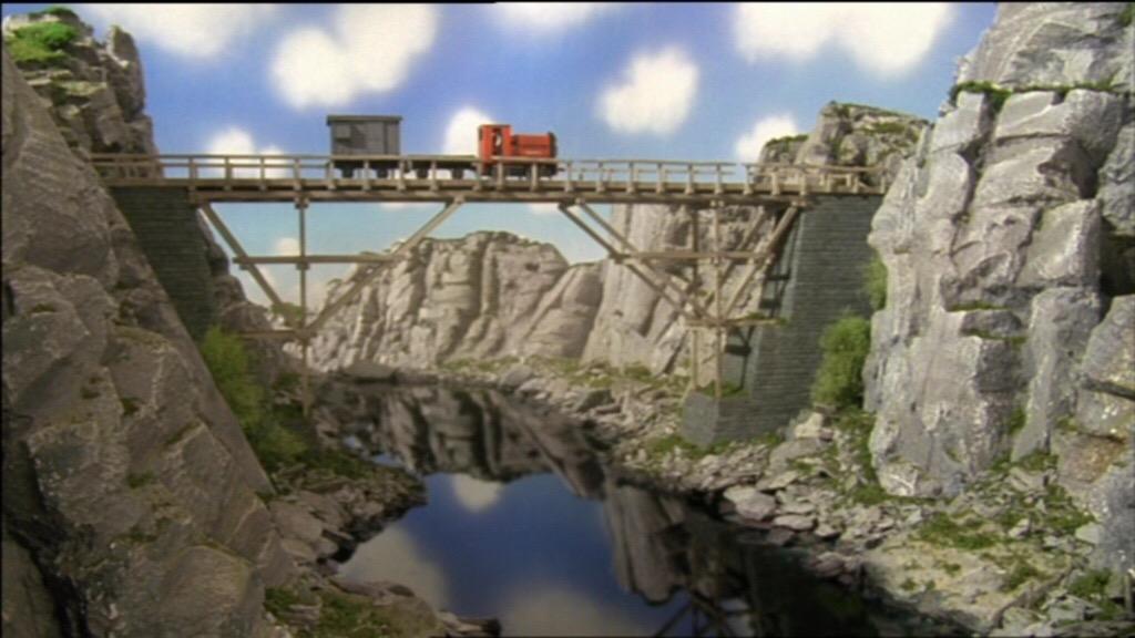 TV版第7シーズンの古い木製の橋
