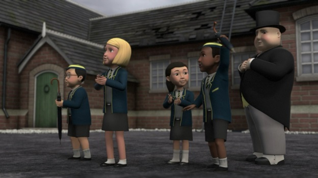 TV版第14シーズンの学校の子供達(トップハム・ハット卿除く)