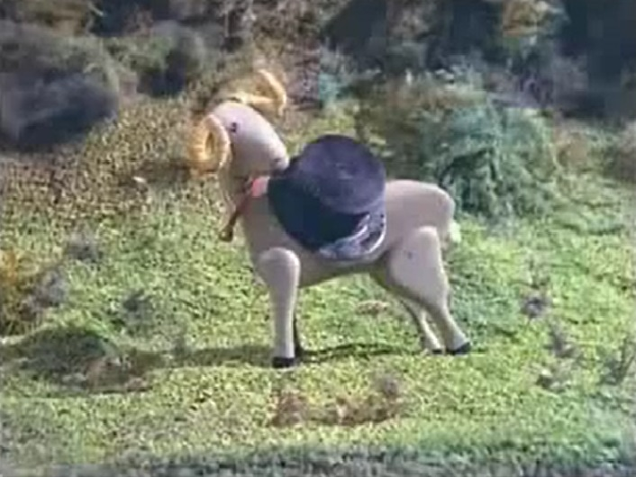 TV版第1シーズンの空腹の山羊
