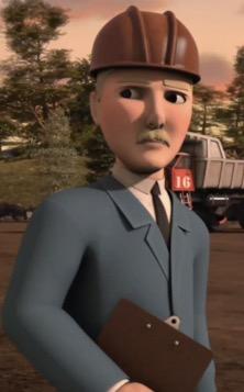 TV版第20シーズンの工事現場監督