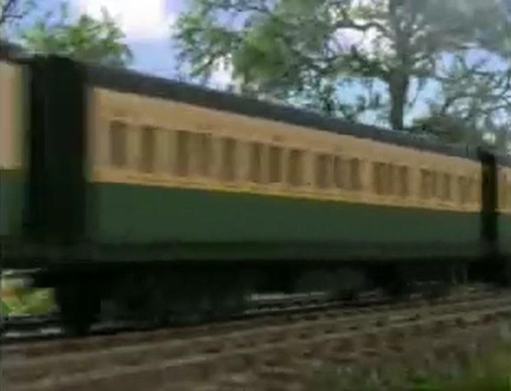 TV版第7シーズンの急行客車(緑)3