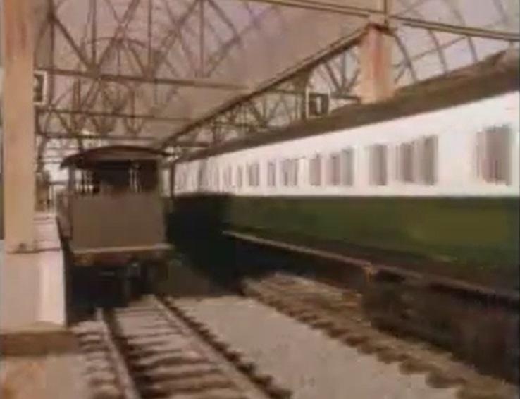 TV版第2シーズンの急行客車(緑)5