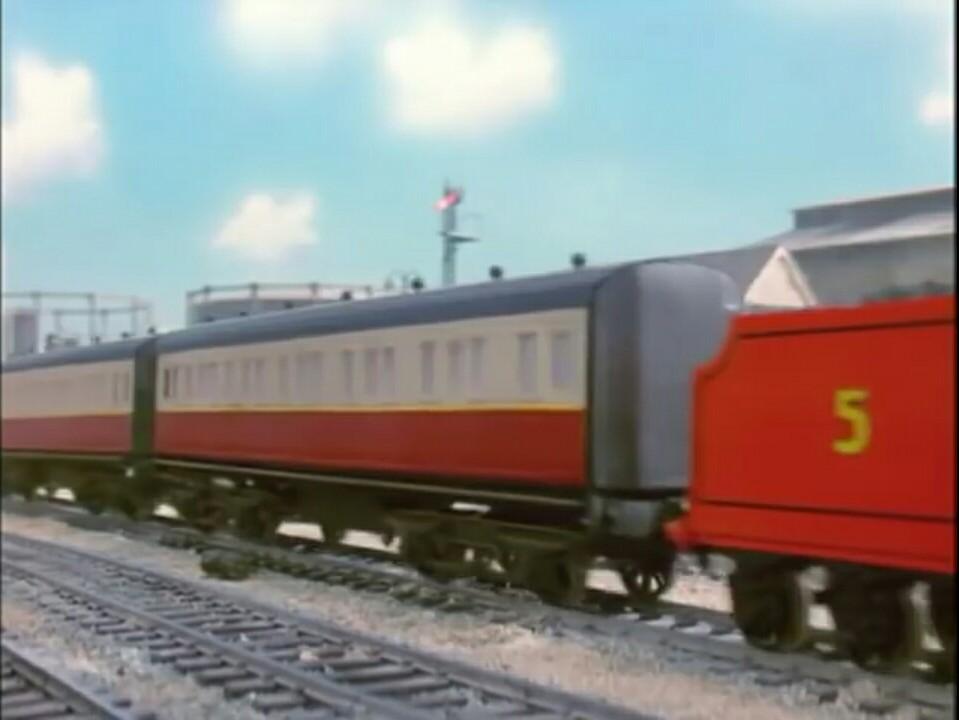 第3シーズンの急行客車(赤)4