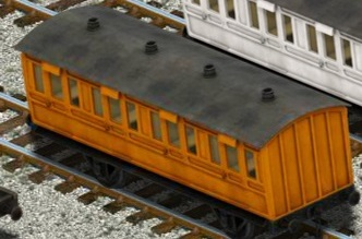 Lift, Load, and Haulの狐色の支線客車