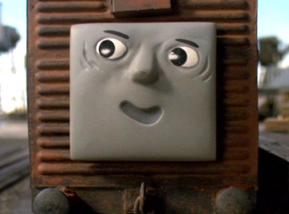 TV版第7シーズンの果物を積んだ有蓋貨車3